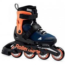 Дитячі ролики Rollerblade Microblade Orange/Blue 2021