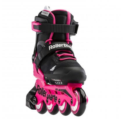 Дитячі ролики Rollerblade Microblade Black/Neon Pink