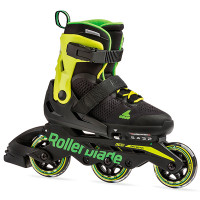 Дитячі ролики Rollerblade Microblade 3WD Black/Lime