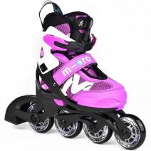 Дитячі ролики Micro NEW Shaper Purple/White