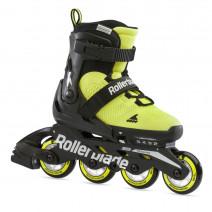 Дитячі ролики Rollerblade Microblade SE Black/Lime