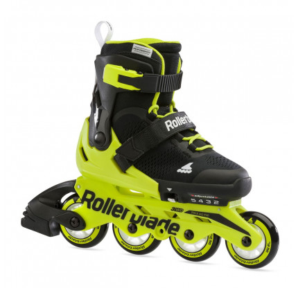 Дитячі ролики Rollerblade Microblade Black/Neon Yellow