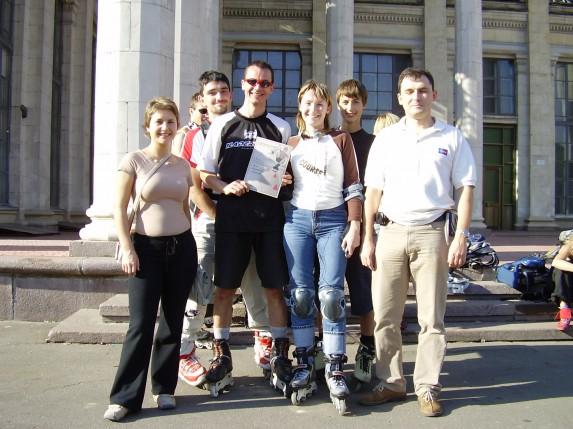 Первое место! Киев 2005
