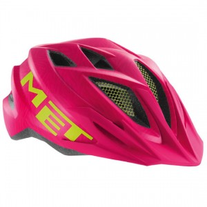 Детский шлем Met Crackerjack Pink/Green