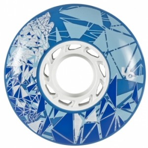 Колеса для роликов Undercover Wolf 72mm/88А Blue