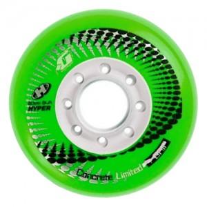 Колеса для роликов Hyper Concrete Limited +Grip  Green