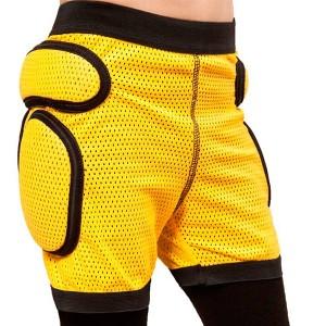 Дитячі захисні шорти Sport Gear yellow