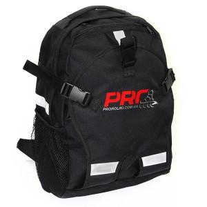 Детский рюкзак для роликов PRO-R Junior Black Red Logo