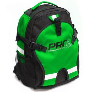 Детский рюкзак для роликов PRO-R Junior green