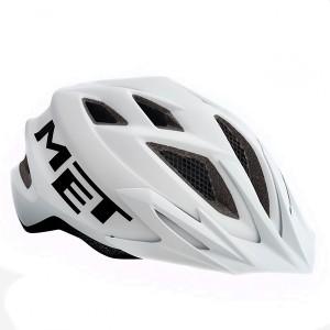 Детский шлем Met White