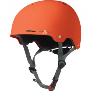 Шлем Triple Eight Gotham Orange Rubber