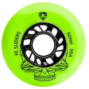 Kолеса Flying Eagle Sliders Green 80mm/90A