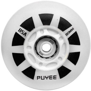 Колеса для роликов Puyee White 4шт