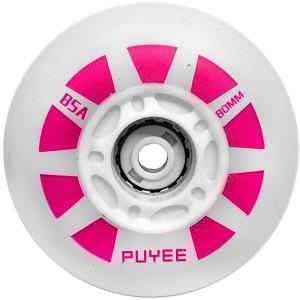 Светящиеся колеса для роликов Puyee Pink