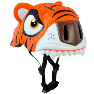 Шлем Crazy Safety Orange Tiger