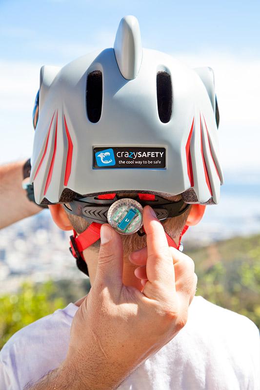 шлем с мигалкой