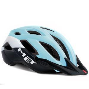 Шлем MET Crossover Light Blue/Black