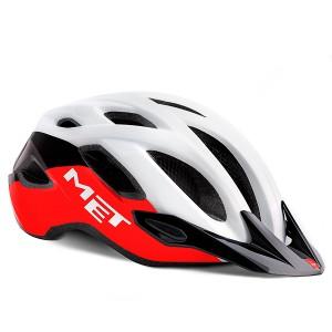 Шлем MET Crossover White/Black/Red