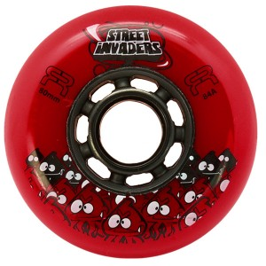 Колеса для роликов FR Street Invaders New Red