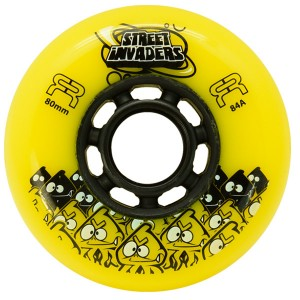 Колеса для роликов FR Street Invaders New Yellow