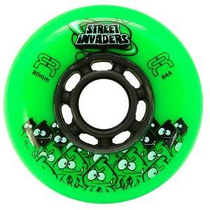 Колеса для роликов FR Street Invaders New Green