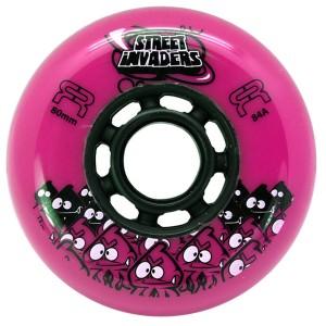 Колеса для роликов FR Street Invaders New Pink