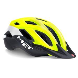 Шлем MET Crossover Yellow Black