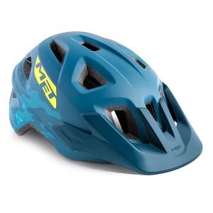 Шолом MET Eldar Petrol Blue