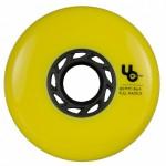 PWR 20 набір колес для роликів 4шт 406186 Team 80mm/86a, full Radius, yellow, 4-Pack