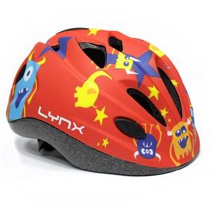 Детский шлем Lynx Kids Red Monster