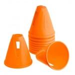 оранжевые конусы для слалома