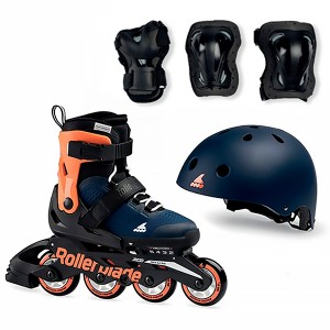 Rollerblade Microblade Сube Orange/Navy
