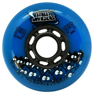 Колеса для роликов FR Street Invaders 84мм Blue