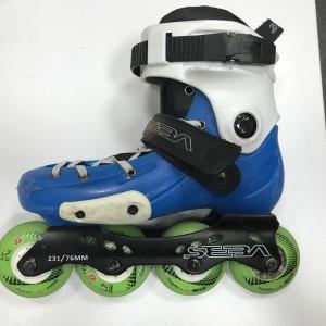 Роликовые коньки Seba FR Junior BLUE 35-37