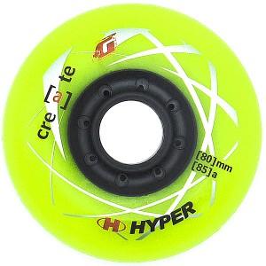 Колеса для роликов Hyper Create Lime