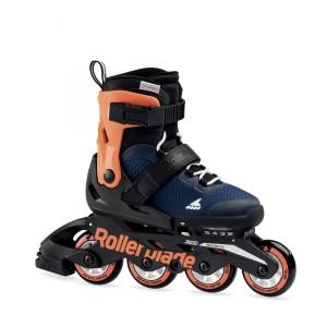 Детские ролики Rollerblade Microblade Orange/Blue 2020