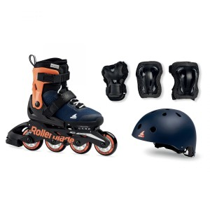Ролики Rollerblade Microblade Сube Orange/Blue