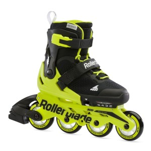 Rollerblade Microblade Black/Neon Yellow