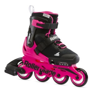 Rollerblade Microblade Black/Neon Pink