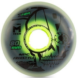 Колеса MPC Freestyle X-Firm DUAL NATURAL (80mm/86A)
