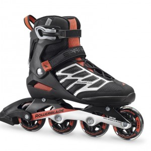 Ролики Rollerblade Spark 80 Black/red