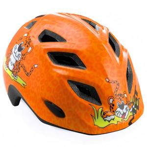 Детский шлем Met Orange Cheetah