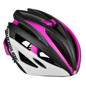 Шолом Powerslide RACE Attack White/Pink