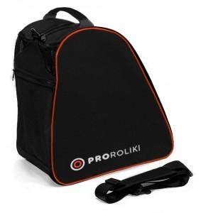 Сумка для роликов PRO-R Cordura Black Orange Logo