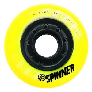 Колеса Powerslide Spinner 72mm/85А Yellow