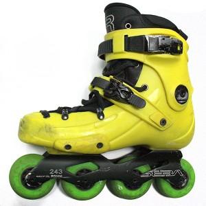 Ролики FR Skates FR1-80 Yellow Б/У