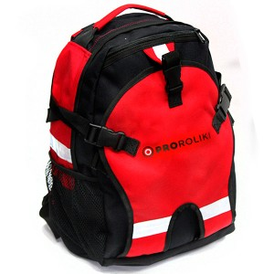 Детский рюкзак для роликов PRO-R JR Red