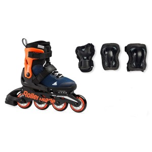Rollerblade Microblade Combo 2021 Orange/Navy