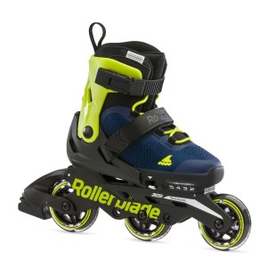 Rollerblade Microblade 3WD 2021 Blue/Lime