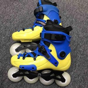 Ролики FR Skates FR1-80 Blue/Yellow